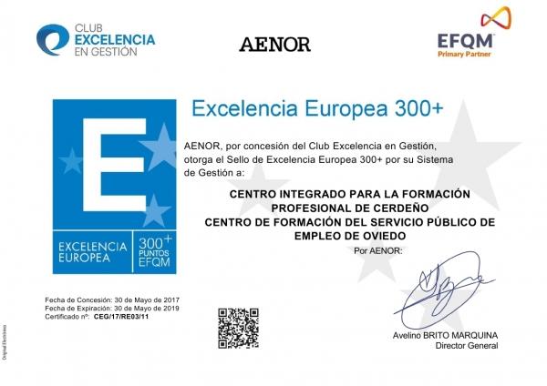 EFQM 300+ Excelencia y Calidad